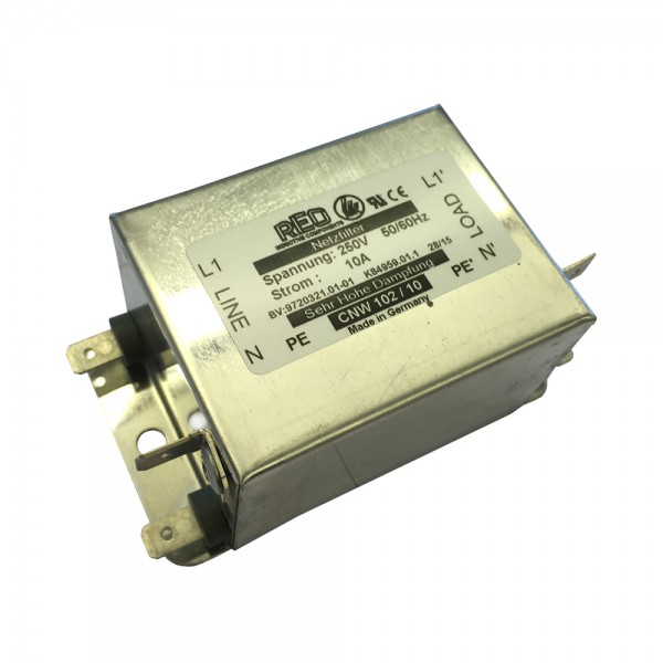Einphasen-Netzfilter CNW 102/10 NEU mit UL