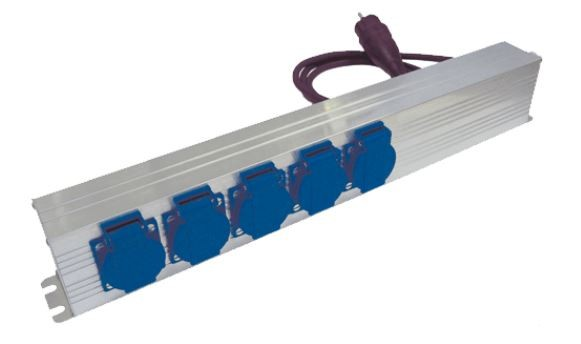 Geräteanschlussdose mit Netzfilter und Überspannungsschutz CNW 724/16